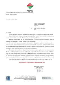 thumbnail of Lettera Augurale Natale 2017 da parte del Presidente Regionale Marco Cimarelli