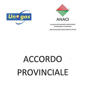 Convenzione Provinciale ANACI-Unogas per fornitura Energia Elettrica e Gas condominiale - ANACI Ascoli Piceno Fermo