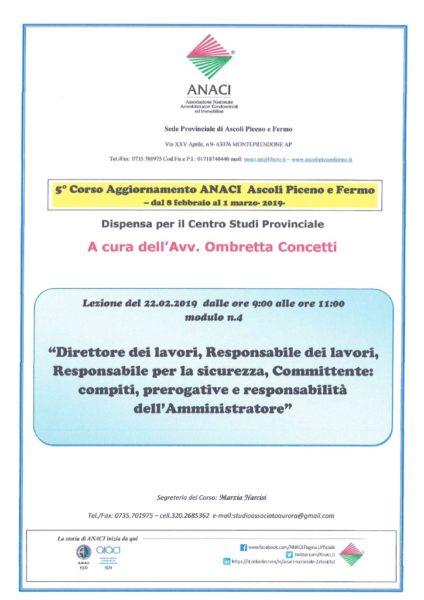 thumbnail of Relazione avv. Concetti modulo n.4- Direttore e Responsabile lavori in condominio