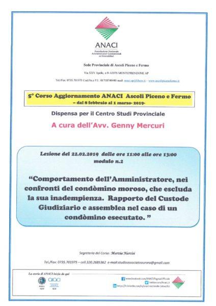 thumbnail of Relazione modulo n.2 avv. Genny Mercuri
